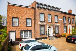 Frontage of Breeze Guest House : Bootle : Liverpool