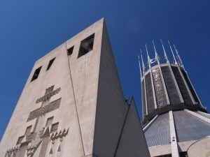 Liverpool Metropolitan Cathedral : Copyright Duncan Reid : Dakesart.co.uk